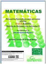 Libro de matemáticas Nivel II