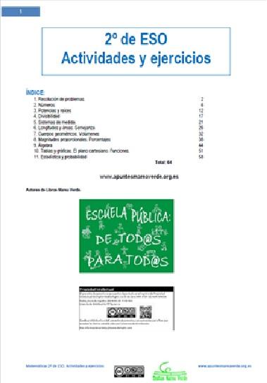 numeros naturales ejercicios 1 eso pdf